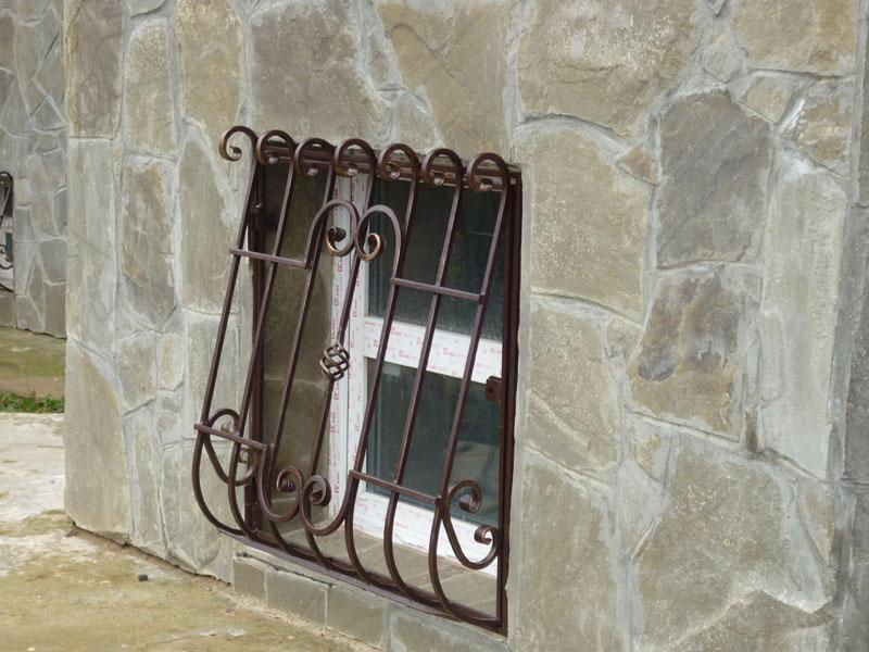 Решетки на окна (для примера №1)