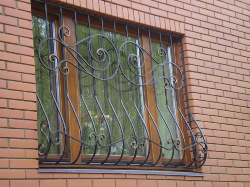 Решетки на окна в Алматы