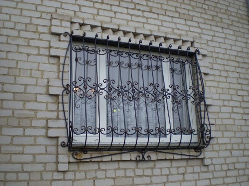 Решетки на окна (для примера №4)